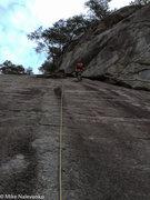 Rock Climbing Photo: Bob's go at FreshStep