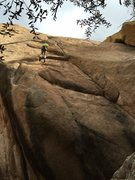 Rock Climbing Photo: This is the sport route at the base of the final r...