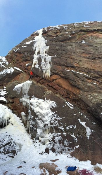 Rock Climbing Photo: Eldo mixed.