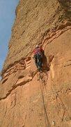 Rock Climbing Photo: Just getting off the ground, finally reaching a de...
