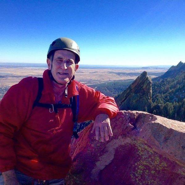 Summit of First Flatiron in Boulder, Colorado