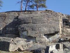 Rock Climbing Photo: Little West Face