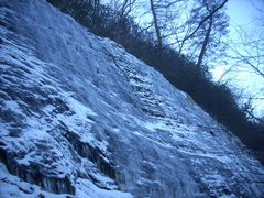 Rock Climbing Photo: West Face Wall - Further climbs to the right of th...