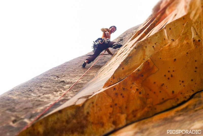 Rock Climbing Photo: Matthew Lawry rockin it