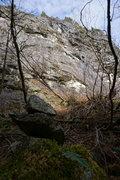 Rock Climbing Photo: The Main Wall, Erockticka goes up on the left.