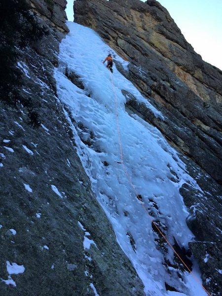 Haney Ice Flow 3/2/15