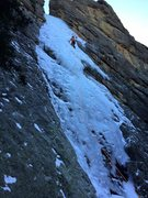 Rock Climbing Photo: Haney Ice Flow 3/2/15