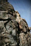 Rock Climbing Photo: fote hog 5.6?