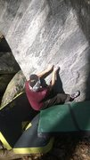 Rock Climbing Photo: Morning Star V7