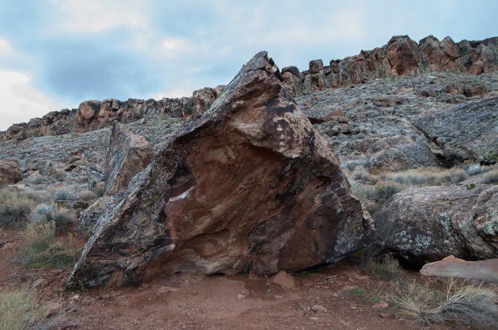 Rock Climbing Photo: First Born Boulder