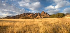 Rock Climbing Photo: The West Stronghold at sundown.  What a perfect pl...