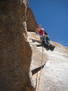 Rock Climbing Photo: You can break it into three pitches with a semi ha...
