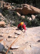 Rock Climbing Photo: Fun times on P2.  All chickenheads for gear and ab...