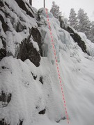 Rock Climbing Photo: Buried in snow like this, it looks even less impre...