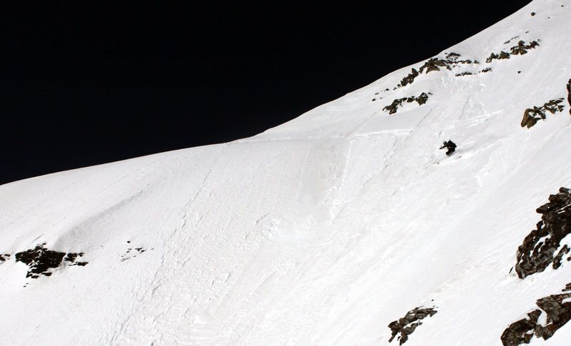 Rock Climbing Photo: Landry Line, Pyramid Peak.