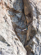 Rock Climbing Photo: This climb is full of incredible moves, amazing!!