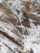 Rock Climbing Photo: What's the name of the ice climb right of Whittle ...