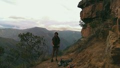 Rock Climbing Photo: Me in La Mojarra