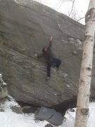 Rock Climbing Photo: A send go on Vertigo. One of the best 7's in the N...