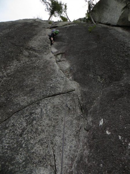 Jessica leading the nice 3rd pitch.