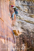 Rock Climbing Photo: Z.Harrison's judgement upon the toad stool and hel...