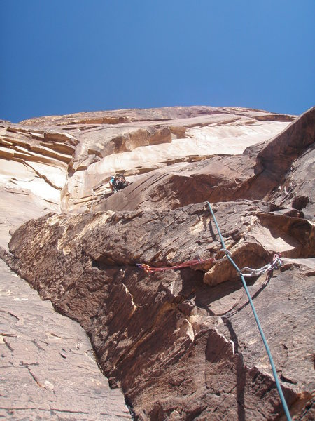 Rock Climbing Photo: fang pitch of levitation 29