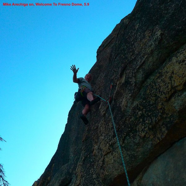 Mike Arechiga on, Welcome To Fresno Dome, 5.9