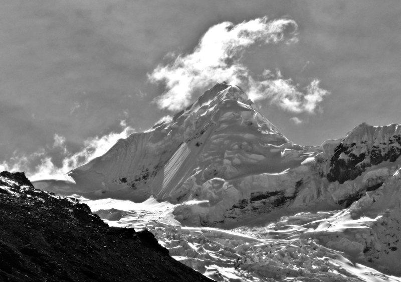 Rock Climbing Photo: Tocllaraju