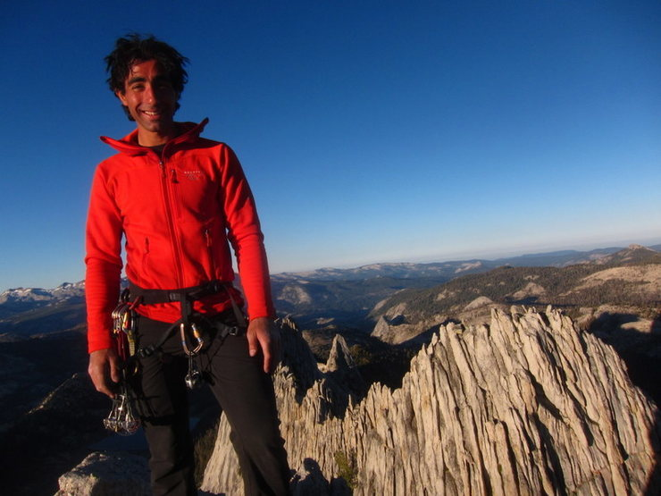 Rock Climbing Photo: Matthes Crest full moon excursion.