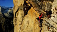 Rock Climbing Photo: La Esfinge, Peru, 11c big wall.