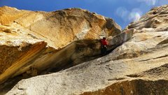 Rock Climbing Photo: La Esfinge, Peru, 11c