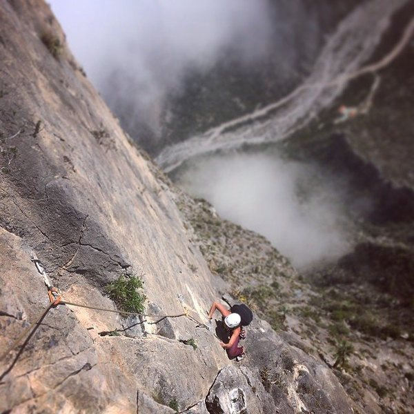 Bailey Crawford on the 16th pitch of Time Wave Zero.