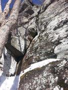 Rock Climbing Photo: Head Over Heels