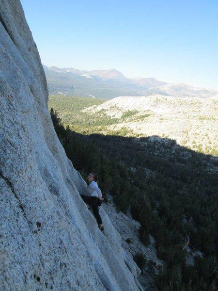 Rock Climbing Photo: Cathedral Peak!