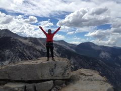 Rock Climbing Photo: Summit of Charlotte Dome!