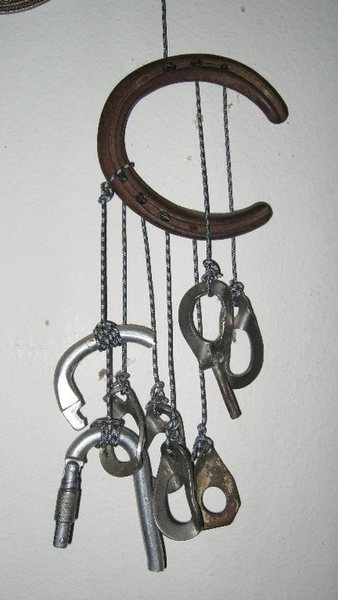 Climber's wind chime.