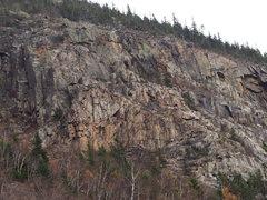 Rock Climbing Photo: Whitewall Mt (East Side Zealand Notch) Cropped