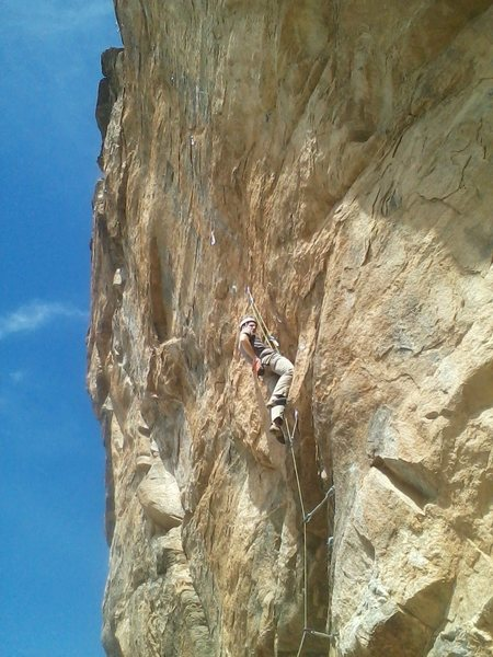 Rock Climbing Photo: John Hein...Hen...Hind.. oh hell you know, just pa...