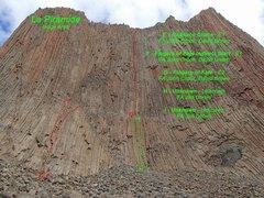 Rock Climbing Photo: La Gran Repisa Central