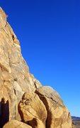 Rock Climbing Photo: Lee Tomatsu on Vagmarken Buttress.  Mar 2015.