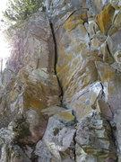 Rock Climbing Photo: Licorice Line
