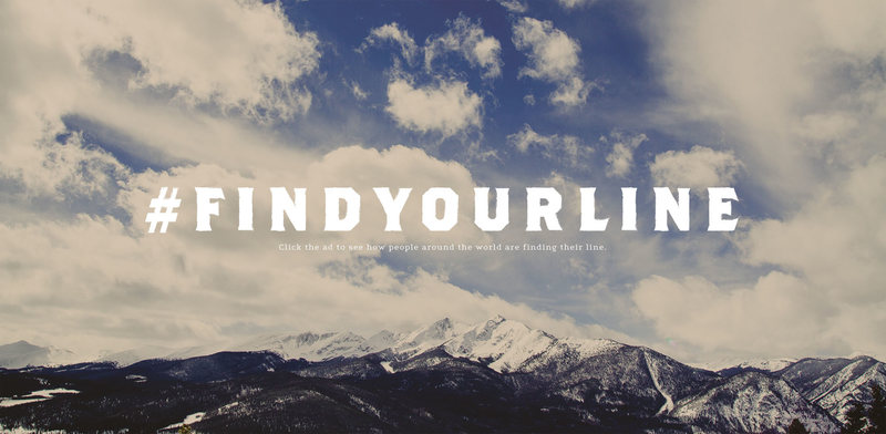 #findyourline to your photos to get featured on the carabiner website!