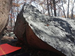 Rock Climbing Photo: Arete on RH boulder