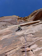 Rock Climbing Photo: Guillermo on P1