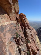 Rock Climbing Photo: descent gully
