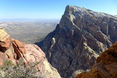 Rock Climbing Photo: Mt Wilson from where the route tops out on Rainbow...