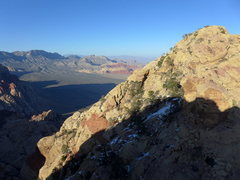 Rock Climbing Photo: heading toward the descent from Rainbow Mt
