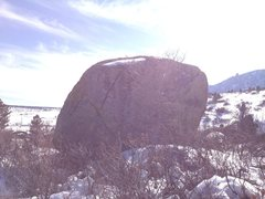 Rock Climbing Photo: The X-crack.