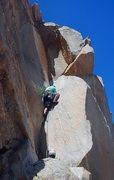 Rock Climbing Photo: Illuminating brightness on Little Criminals.  Phot...