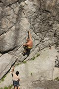 Rock Climbing Photo: Starting Looney